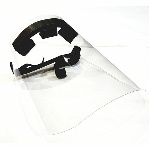 Protective Face Shield with Elastic Band - Adult