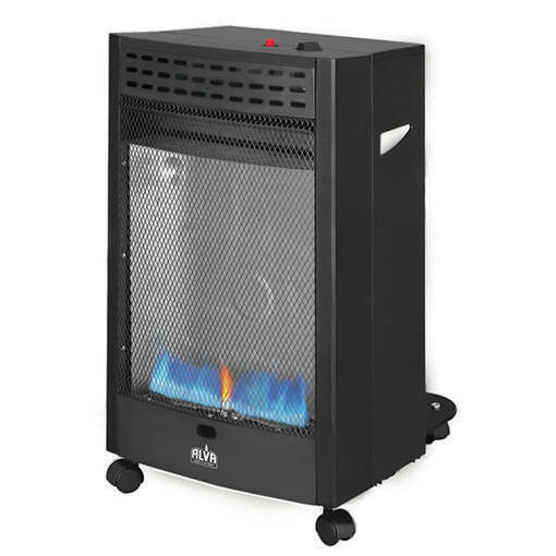 Alva Blue Flame Convection Roll About Gas Heater