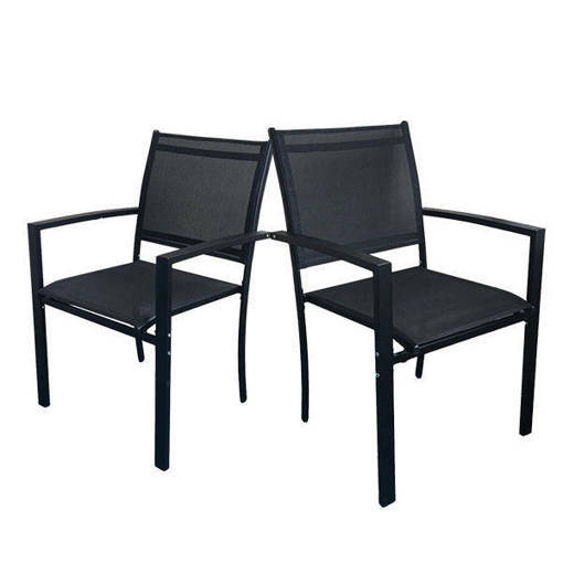 MILANO PATIO CHAIR -2 PACK